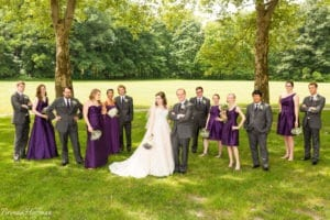 Grand-Rapids-Wedding-Photographer - bridal party